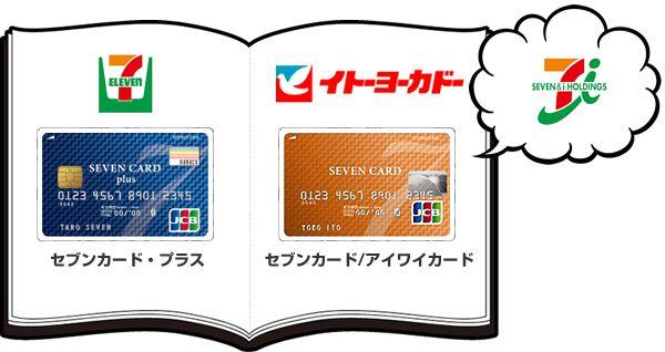 カード セブンイレブン クレジット